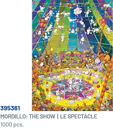 Clementoni 1000P Mordillo-The Show 395361.png