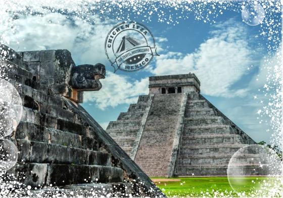 Grafika 1000P Travel around the World - Chichen Itza, Mexico.png