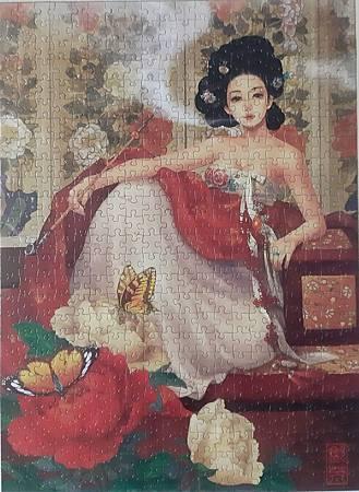 2020.03.03 500pcs Korean Lady I 牡丹花女人I (6).jpg