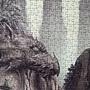 2020.04.19 1000pcs Der versteinerte Wald 山水恐龍畫 (7).jpg