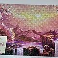 2020.05.17 1000pcs Dawn at Sakura Mountain 櫻花山黎明 (2).jpg