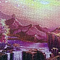 2020.05.17 1000pcs Dawn at Sakura Mountain 櫻花山黎明 (4).jpg