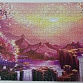 2020.05.17 1000pcs Dawn at Sakura Mountain 櫻花山黎明 (3).jpg