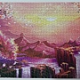 2020.05.17 1000pcs Dawn at Sakura Mountain 櫻花山黎明 (3).jpg