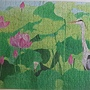 2020.06.10 500pcs ハスの花とアオサギ (1).jpg