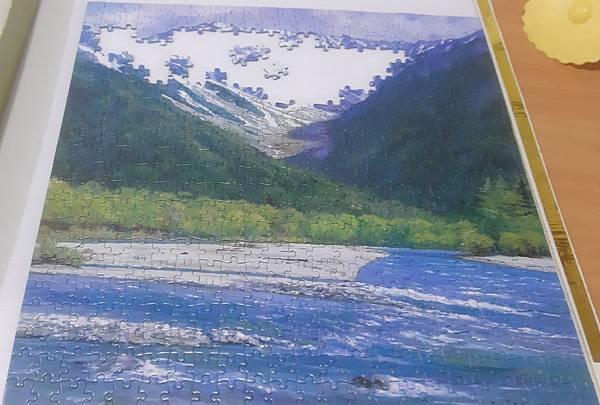 2020.06.14 506pcs Mount Hotak, Japan 穗高殘雪(上高地)--一枚的繪系列 (2).jpg