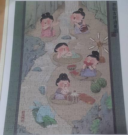 2020.06.15 500pcs Chubby Friends - The Beauties from Tang's Dynasty  胖臉吉祥消暑圖 (9).jpg