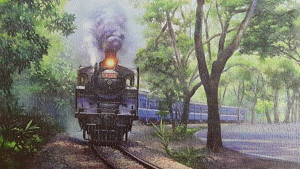 2020.06.16-17 1200pcs  The Whistle in Green Tunnel - JiJi Line Railway 綠色隧道的氣笛聲-集集線鐵道 (4).jpg