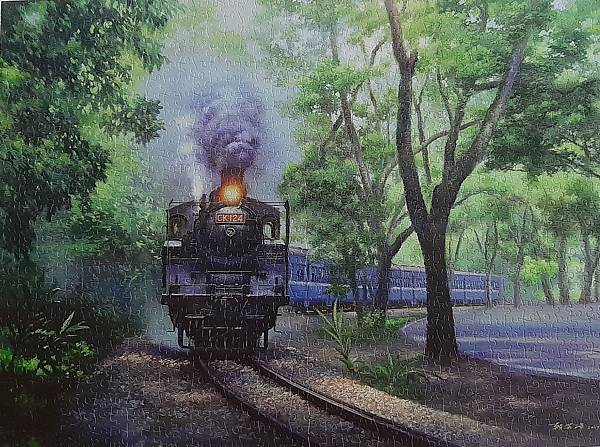 2020.06.16-17 1200pcs  The Whistle in Green Tunnel - JiJi Line Railway 綠色隧道的氣笛聲-集集線鐵道 (2).jpg