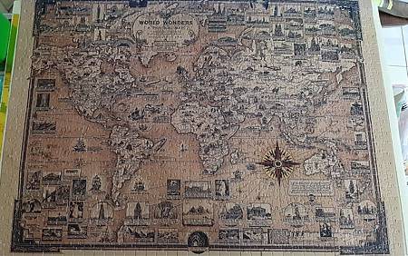 2020.06.21-22 1000pcs Old World Map World Wonders 1939 世界奇觀 (2).jpg