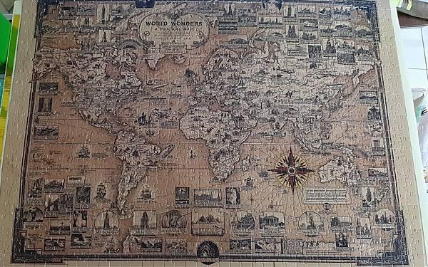 2020.06.21-22 1000pcs Old World Map World Wonders 1939 世界奇觀 (2).jpg
