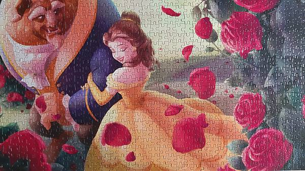 2020.07.10-07.11 1000pcs The Rose of Beauty and the Beast 薔薇小徑(美女與野獸) (7).jpg