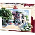 Art Puzzle 500P Cafe Villa 5079.jpg