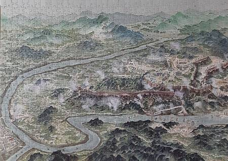 2020.09.04-09.06 1000pcs The Campaign of Diaoyucheng Fortress Against Mongols(Yuan Empire) 釣魚城抗蒙(元)之戰.jpg