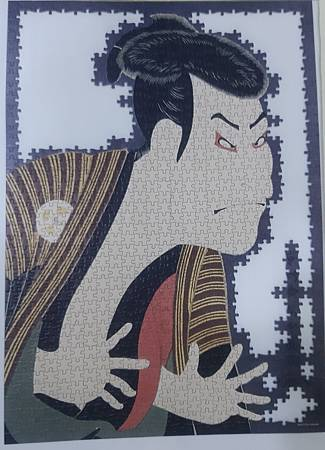 2021.05.26 1000pcs Kabuki Actor Otani Oniji III as Yakko Edobei in the Play The Colored Reins of a Loving Wife 三代目大谷鬼次の奴江戸兵衛 (1).jpg