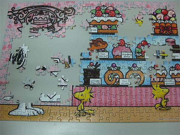 2010.07.28 300片Snoopy Sweet Cake (2).JPG