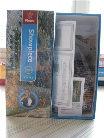 2010.07.18 Pintoo 500 pcs  Road with Cypresses (1).JPG