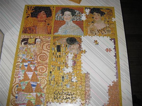 2010.08.16 1000 pcs Klimt-Ladies (2).JPG