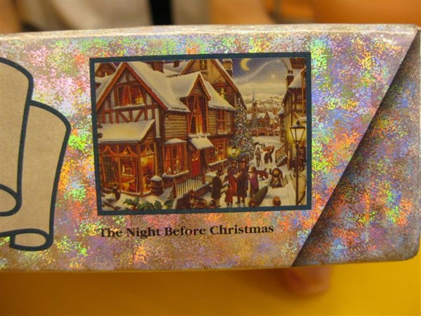 2009.06.25 Waddingtons 1997 Limited Xmas Jigsaw, The night before Christmas, 1000片 (9).JPG