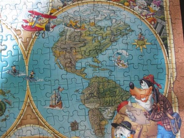 2009.07.17 Around the world heritage with Mickey 300片, 日製Tenyo拼圖 (17).JPG
