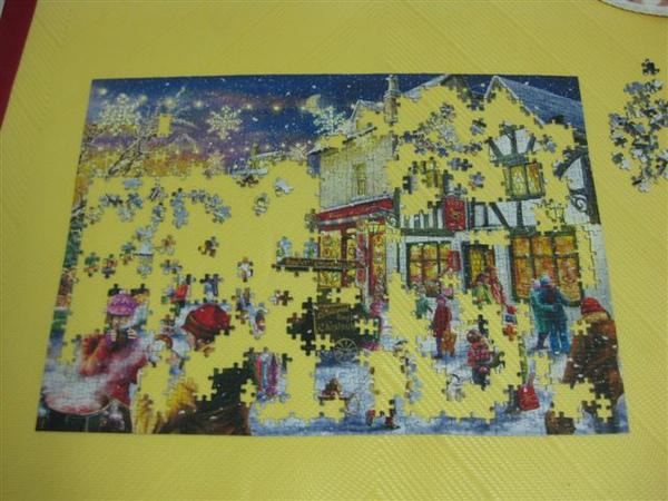2009.09.13-14 1000片Christmas Cheers, Gibsons拼圖2009年聖誕限量拼圖 (17).JPG
