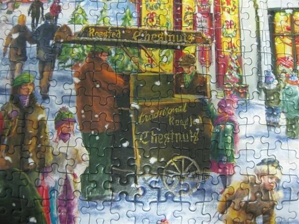 2009.09.13-14 1000片Christmas Cheers, Gibsons拼圖2009年聖誕限量拼圖 (25).JPG
