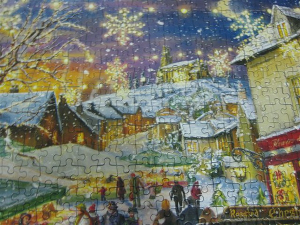 2009.09.13-14 1000片Christmas Cheers, Gibsons拼圖2009年聖誕限量拼圖 (30).JPG