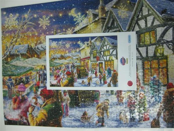 2009.09.13-14 1000片Christmas Cheers, Gibsons拼圖2009年聖誕限量拼圖 (37).JPG