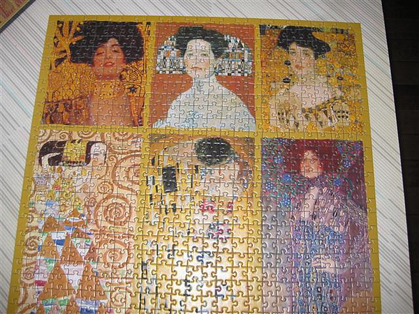 2010.08.16 1000 pcs Klimt-Ladies (7).JPG
