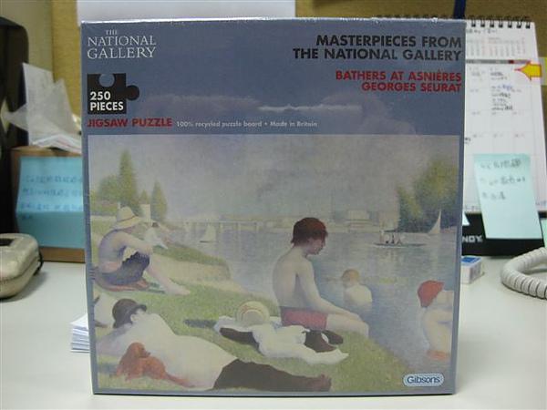 2010.08.17 250片Bathers at Asnieres.JPG