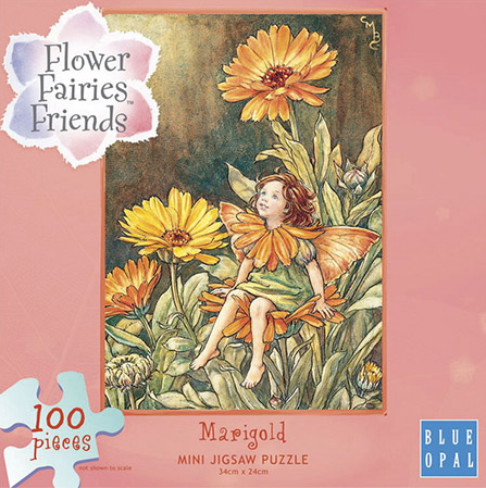Flower Fairies Friends - 100 Piece Mini Jigsaw - Marigold.png