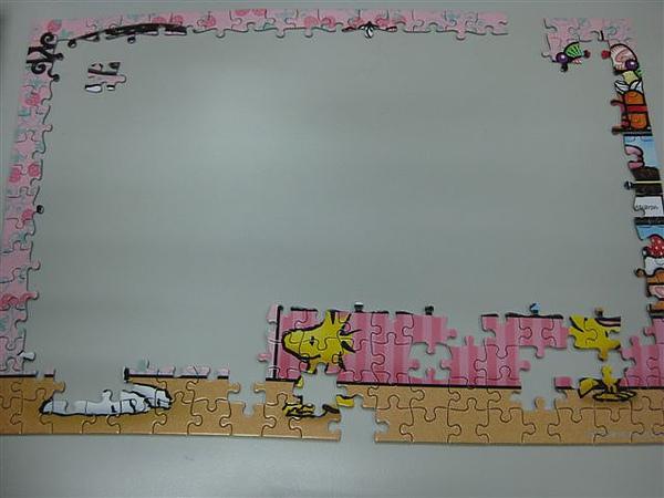 2010.07.28 300片Snoopy Sweet Cake.JPG