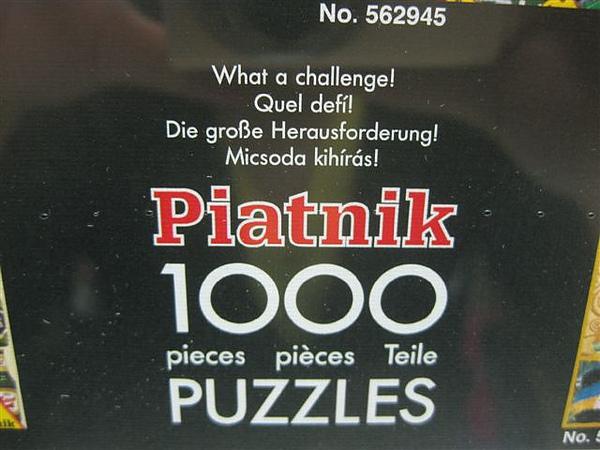 2010.08.10 1000 pcs Klimt - Ladies, Piatnik (2).JPG