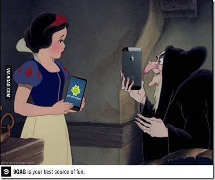 白雪公主與蘋果