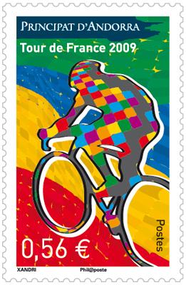 Timbre d'Andorre - Le Tour de France 0.56.jpg
