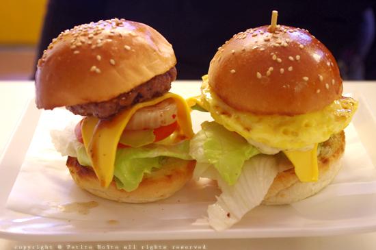 雙拼迷你漢堡