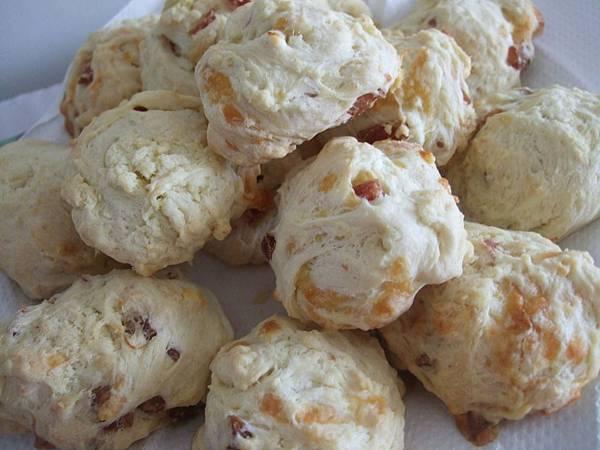 香腸起司scone