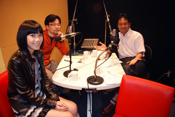 20081020晚上上廣播節目