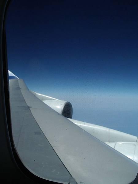 飛機翅膀前端