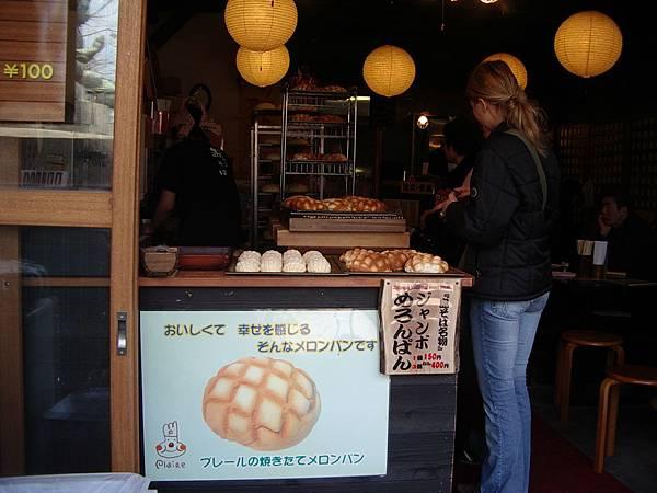這家店另有波羅麵包