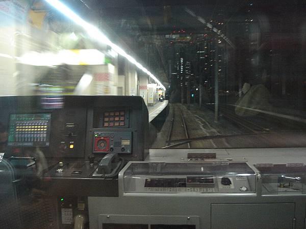 回品川的電車上