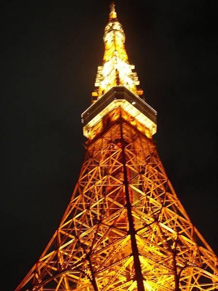 淳慧晚上去東京鐵塔