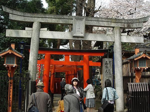 上野公園內的花園神社