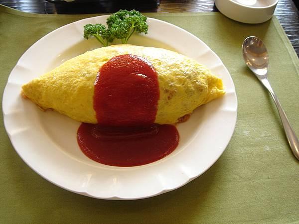 黑船亭的蛋包飯