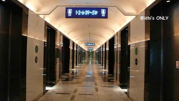 WTC的電梯 讓我想到品川王子新館