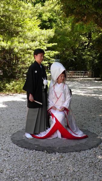 還有人在拍結婚照