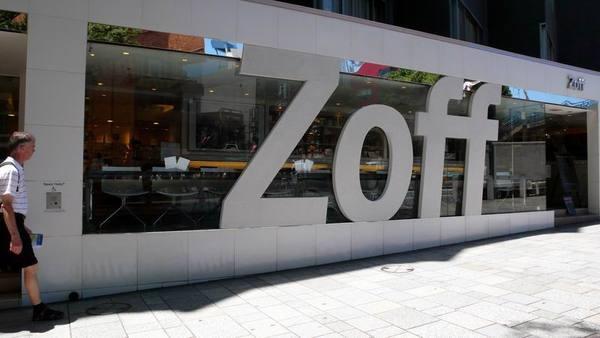 這家Zoff有Cafe'喔