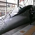前往廣島  這次就是搭rail star了