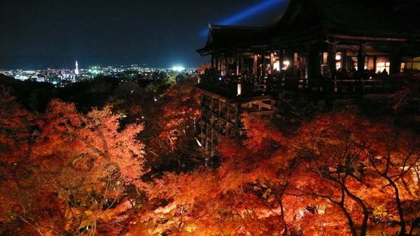 清水舞台與京都塔