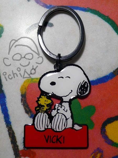 Snoopy鑰匙圈